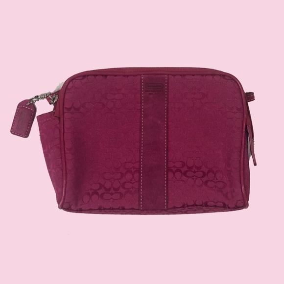Coach Handbags - Coach Small Make-Up Bag